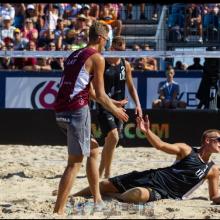 A. Rumševičius ir L. Každailis sezoną baigė Jūrmaloje užimdami 9-ąją vietą