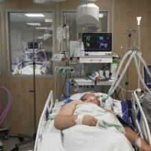 Ligoninėse gydomas 61 COVID-19 pacientas, iš jų devyni – reanimacijoje