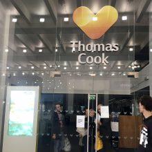 """Žlugo britų kelionių agentūra """"Thomas Cook"""""""
