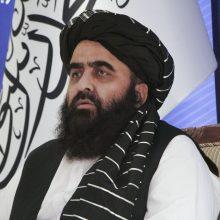 Talibanas žada neleisti vykdyti atakų iš jo kontroliuojamos teritorijos