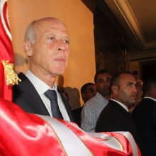 Oficialūs rezultatai: Tuniso prezidento rinkimus laimėjo K. Saiedas