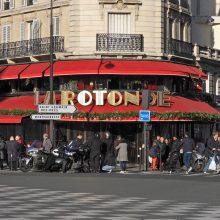 """Istorinėje Paryžiaus kavinėje """"La Rotonde"""" kilo gaisras"""