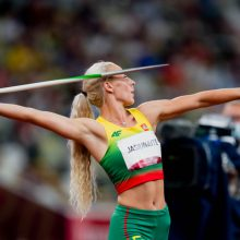 Ieties metikė L. Jasiūnaitė olimpinių žaidynių finale iškovojo septintąją vietą