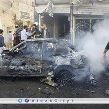 Šiaurės Sirijoje sprogus automobilyje padėtai bombai žuvo 19 žmonių