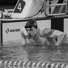 E. Matakas iškovojo dar vieną aukso medalį Europos žmonių su negalia plaukimo čempionate