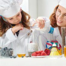 Gaminkime su vaikais: trys paprasti ir sveiki receptai