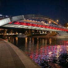 Vilnius palaiko dėl demokratijos kovojančius baltarusius