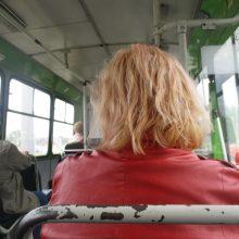 Uostamiesčio autobuse vagis nusižiūrėjo auką