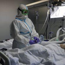 Rusijoje nuo COVID-19 per parą mirė 439 žmonės