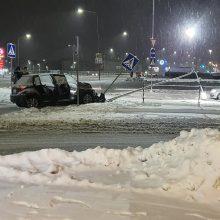 Vilniuje – gausybė avarijų, nukentėjo vaikas