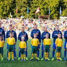 Ukrainiečiai į akistatą su lietuviais mes kovinę sudėtį
