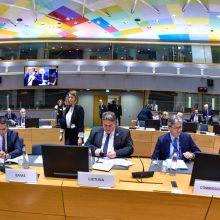 Ministras: Rusijos agresija prieš Ukrainą išlieka svarbiausiu saugumo iššūkiu ESBO