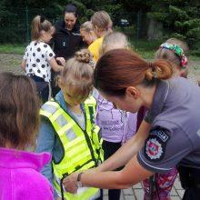 Pareigūnai pamiršti saugaus elgesio taisyklių neleidžia ir atostogaujantiems vaikams