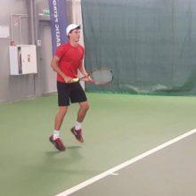 Tenisininkas M. Vasiliauskas pralaimėjo turnyro Turkijoje ketvirtfinalyje