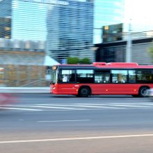 Birželio 3 d. keisis 14, 18, 115 maršrutų autobusų eismo organizavimas