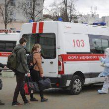 Baltarusijoje koronavirusu užsikrėtusių žmonių skaičius padidėjo iki 6 723