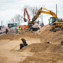 Liepkalnio, Žirnių – Minsko pl. sankryžos rekonstrukcijoje – pokyčiai nuo gegužės