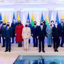 Premjerė: Lietuva telks paramą keisti ES migracijos politikai, kad nebūtų manipuliavimo