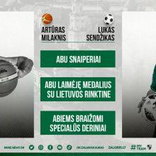 UEFA Futsal Čempionų lyga Kaune: kas sieja A. Milaknį ir L. Sendžiką?