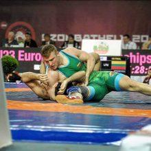 Imtynininkas iš Kauno prasiskynė kelią į Europos žaidynes