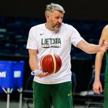Rinktinės treneris D. Maskoliūnas: artėjame prie galutinio sprendimo dėl sudėties