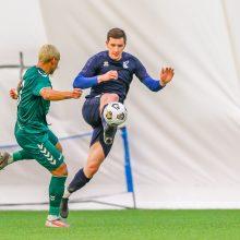 Įsibėgėjančiame čempionate: pamokos jaunimui ir brazilo įvarčiai