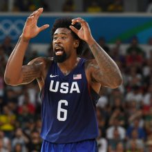 JAV krepšinio rinktinė patiesė ispanus ir žais olimpiados finale
