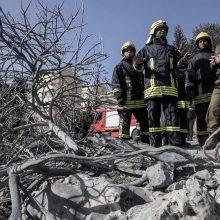 Gaisras Izraelyje numalšintas, sulaikyti penki įtariamieji