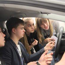 Vairuotojus reikia rengti jau mokykloje
