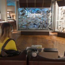 Zologijos muziejuje – neįprasta menininkų šventė