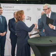 """""""Kaunas 2022"""" ir LRT pasirašė bendradarbiavimo sutartį"""