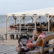 Apibendrino: paplūdimio kavinių savininkai šį sezoną įvertino kaip prasčiausią per dešimt metų, prieigose įsikūrusių įstaigų verslininkai buvo optimistiškesni.