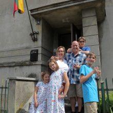 Pase – JAV, o širdyje – Lietuvos pilietė