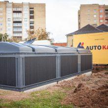 Kaune bus įrengta 1,5 tūkst. šiuolaikiškų požeminių konteinerių