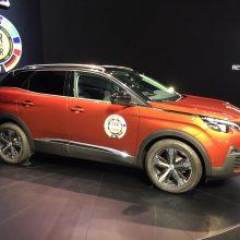 """Ženevos automobilių parodoje – ypatingos ,,Peugeot"""" naujienos"""
