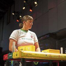 Pasaulio rankų lenkimo čempionate lietuviai iškovojo įvairių spalvų – 11 – medalių