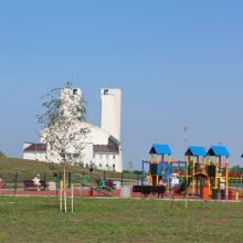 Pietinėje Klaipėdos dalyje – nauja poilsio erdvė