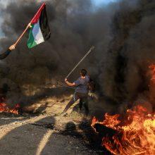 """Per Izraelio raketų smūgius Gazos Ruože žuvo trys """"Hamas"""" kovotojai"""