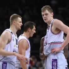 """LKL ketvirtfinalis: """"Lietuvos rytas"""" nepaliko vilčių """"Juventus"""" klubui"""
