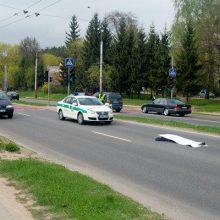 Vilniuje perėjoje žuvo partrenkta senolė