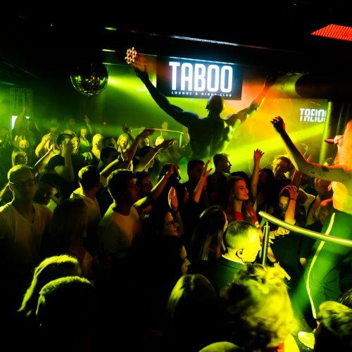 """Taboo"" klube – lankytojų rekordas  © Ievos Jonelytės nuotr."