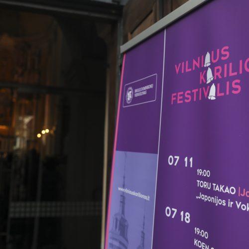 Vilniaus kariliono festivalis  © Mariaus Morkevičiaus /ELTOS nuotr.