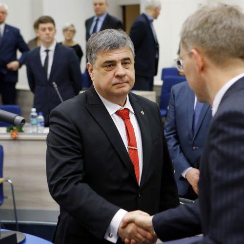 Naujoji Klaipėdos miesto taryba 2019.04.18  © Vytauto Petriko nuotr.