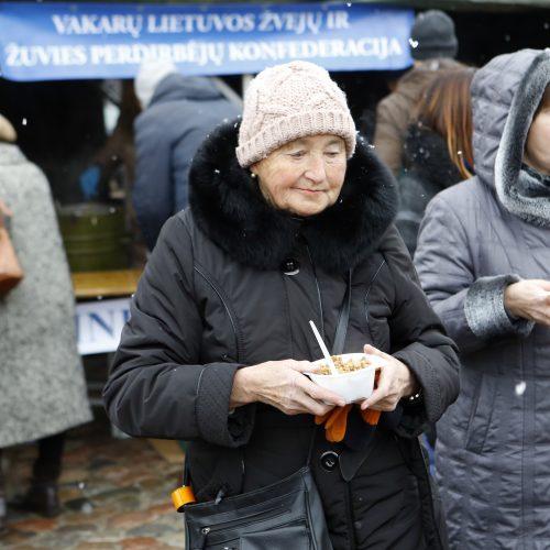 Žuvienė teatro aikštėje  © Vytauto Petriko nuotr.