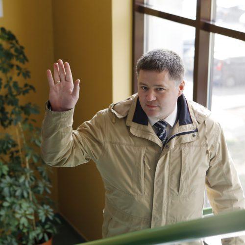 Viačeslavo Titovo teismas  © Vytauto Petriko nuotr.