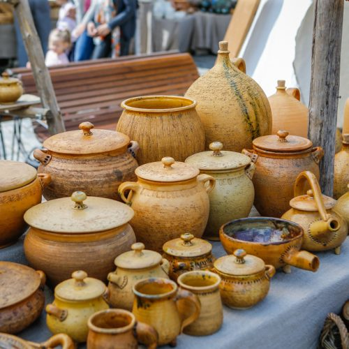 """Festivalis """"Lauksnos"""" amatų miestelis  © Vytauto Petriko nuotr."""