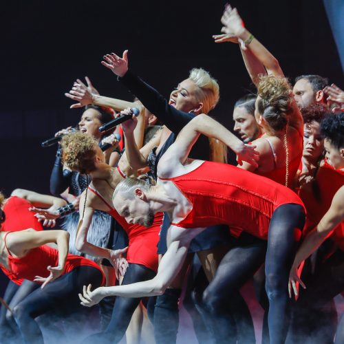 """Grupės """"Man-go"""" jubiliejinis koncertas  © Vytauto Petriko nuotr."""