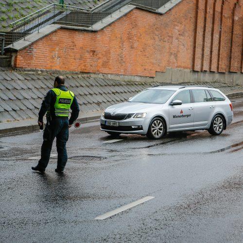 Policijos reidas Klaipėdoje  © Vytauto Petriko nuotr.