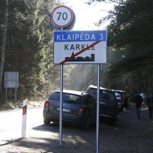 Klaipėdiečiai plūstelėjo į Karklę  © Vytauto Liaudanskio nuotr.