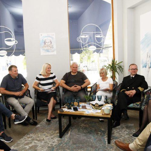Jūros šventės spaudos konferencija  © Vytauto Liaudanskio nuotr.